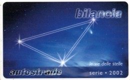 *ITALIA - VIACARD: BILANCIA* -  Scheda Usata - Zodiaco