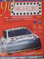 ORIGINAL POSTER PLAKAT 90 TARGA FLORIO RALLY CIR 25x50 FIAT ABARTH ANDREUCCI 1 - Manifesti