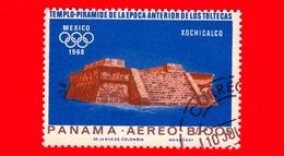 PANAMA - Nuovo - 1967 - Olimpiadi Estive 1968, Città Del Messico - Piramide Del Serpente Piumato, Xochicalco  - 0.05 - P - Panama