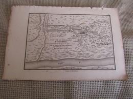 Carte Essai Sur La Topographie D`Olympie Par J.D.Barbié Du Bocage 1780 - Cartes Géographiques