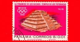 PANAMA - Nuovo - 1967 - Olimpiadi Estive 1968, Città Del Messico - Piramide Di El Tajin - 0.01 - Panama