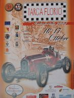 ORIGINAL POSTER PLAKAT TARGAFLORIO AUTOSTORICHE 25x50 ALFA ROMEO CAMPARI 1 - Manifesti