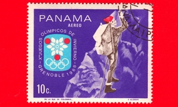 PANAMA - Nuovo - 1968 - Giochi Olimpici Invernali, Grenoble - Alpinismo - Mountain Climbing - 10 - P. Aerea - Panama