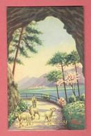 Joyeuses Pâques 1951 - édité A Milan N°6830 Dessin De Abassi - Edingen - Enghien - België