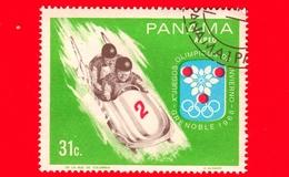 PANAMA - Nuovo - 1968 - Giochi Olimpici Invernali, Grenoble - Bob - Two-man Bobsled - 31 - P. Aerea - Panama