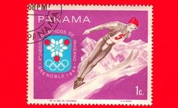 PANAMA - Nuovo - 1968 - Giochi Olimpici Invernali, Grenoble - Salto Con Gli Sci - Ski Jumper - 1 - Panama