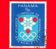 PANAMA - Nuovo - 1968 - Giochi Olimpici Invernali, Grenoble - Emblema - ½ - Panama