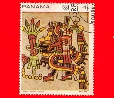 PANAMA - Nuovo - 1968 - Olimpiadi Estive 1968, Messico - Dettaglio Dal 'Codice Nuttall' - 4 - Panama