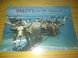 "Postal, Postcard, Radio  - ""West Malaysia""  ,1969 - Amateurfunk"