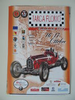 MANIFESTO Plakat TARGA FLORIO AUTOSTORICHE 2004 PALERMO ALFA ROMEO - Manifesti