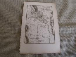 Carte Essai Sur La Topographie De Sparte Et De Ses Environs 1783 - Carte Geographique
