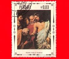 PANAMA - Nuovo - 1968 - Vita Di Cristo - Cristo Consegna Le Chiavi A Pietro, Dipinto Di Peter Paul Rubens - 0.03 - Panama