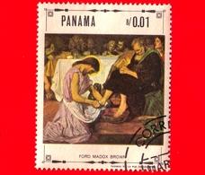 PANAMA - Nuovo - 1968 - Vita Di Cristo - Lavanda Dei Piedi, Dipinto Di Ford Madox Brown - 0.01 - Panama