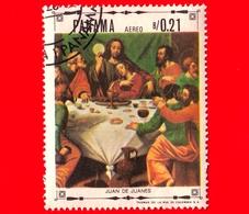 PANAMA - Nuovo - 1968 - Vita Di Cristo - L'ultina Cena, Dipinto Di Juan De Juanes - 0.21 P. Aerea - Panama