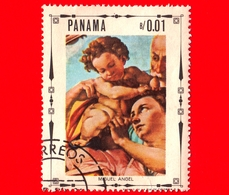 PANAMA - Nuovo - 1968 - Vita Di Cristo -La Sacra Famiglia, Dipinto Di Michelangelo Buonarroti - 0.01 - Panama