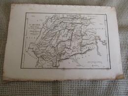 Carte L`Arcadie Par J.D.Barbié Du Bacage 1786 - Carte Geographique