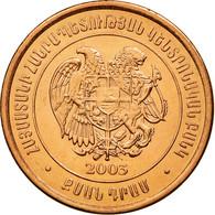 Monnaie, Armenia, 20 Dram, 2003, SPL, Copper Plated Steel, KM:93 - Arménie