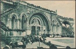 LOURDES - La Basiligue, Pendant La Bénédiction - Lourdes
