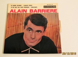 45T ALAIN BARRIÈRE : La Marie Joconde - Vinyl Records