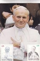 VISITA DE SS JUAN PABLO II 1987 FDC ARGENTINE LOTE X 3 - BLEUP - Popes
