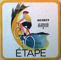 Sous-bock Annecy Le Grand Bornand Tour De France 10e étape 2018 - Beer Mats