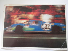 Photo  Collection ELF  21X30 Cm  MATRA MS 630 - Automobiles