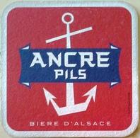 Sous-bock Bière Alsace Ancre Pils - Sous-bocks