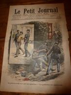 1908 LE PETIT JOURNAL: La Guillotine épouvante Les Malfaiteurs ;  Les Automobilistes Pris Au Lasso; Etc - Newspapers