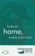 Homewood Suites By Hilton - Hotel Room Key Card - Hotel Keycards