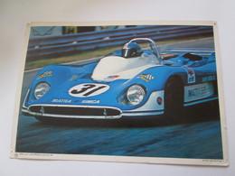 Photo  Collection ELF  21X30 Cm  MATRA  MS  660 - Automobiles