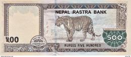 Nepal P.new 500 Rupees 2016   Unc - Népal