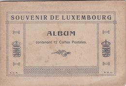 Vieux Album Du Souvenir Du Luxembourg Vide - Supplies And Equipment