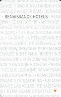 Renaissance Hotel Room Key Card - Hotel Keycards