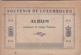 Vieux Album Du Souvenir Du Luxembourg Vide - Matériel