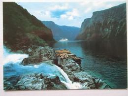 Norvège Norge Norway  Sogn Sognefjord   1970   70's - Norwegen