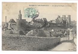 BOURBON L'ARCHAMBAULT - Le Quiqu'engrogne, Le Château - Bourbon L'Archambault