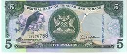 Trinidad & Tobago P.47 5 Dollars 2006   Unc - Trinité & Tobago