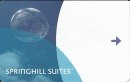 Springhill Suites Hotel Room Key Card - Hotel Keycards
