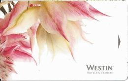 Westin Hotel Room Key Card - Hotel Keycards