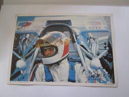 Photo  Collection ELF  21X30 Cm    JOHNNY  SERVOZ  GAVIN - Automobiles