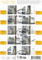 Nederland - 2018 - Velletje Architectuur - Echt Gebruikt - Periode 2013-... (Willem-Alexander)