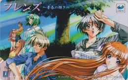 Télécarte Japon / 110-016 - MANGA - SEGA SATURN - FRIENDS ** ONE PUNCH ** - ANIME Japan Phonecard Jeu Video Game - 10187 - Comics