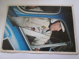 Photo  Collection ELF  21X30 Cm    JEAN CLAUDE  ANDRUET  ALPINE  RALLYE - Automobiles