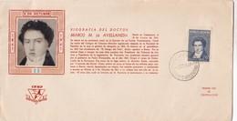 MARCO M DE AVELLANEDA.  RARE FDC DE LUXE OBLITEREE 1941 BUENOS AIRES, L'ARGENTINE - BLEUP - FDC
