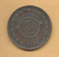 Paraguay - 2 Centésimos - 1870 - KM3 - Paraguay