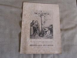 Gravure Jésus Meurt Sur La Croix -Jesus Dying On The Cross - Jesus Muerto En La Cruz - Estampas & Grabados