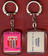 ** PORTE - CLEFS  FOIRE  De  CLICHY  1966 ** - Porte-clefs