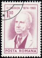 ROMANIA - Scott #2508 Dr. C. I. Parhon (*) / Used Stamp - 1948-.... Republics