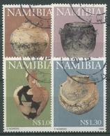 Namibia 1996 Töpferkunst Gefäße 824/27 Gestempelt - Namibie (1990- ...)