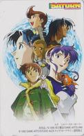 Télécarte Japon / 110-016 - MANGA - SEGA SATURN - SYLVESTER STORY - Japan Phonecard Jeu Video Game - 10190 - BD